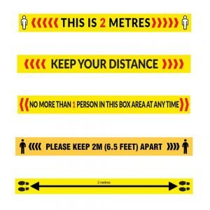 2 Metre Floor Strip Sticker