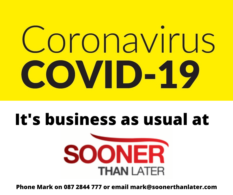 Business as usual at Sooner than Later during COVID-19 image