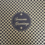 Sooner than Later Christmas card with seasons greetings message